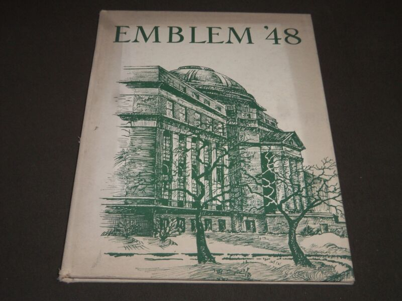 1948 THE EMBLEM CHICAGO TEACHERS COLLEGE YEARBOOK - CHICAGO ILLINOIS - YB 1028