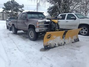 1988-1998 Chevy and gmc parts and 2013 fisher v plow