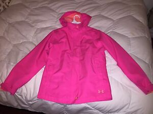 Pink Under Armour Winter Jacket