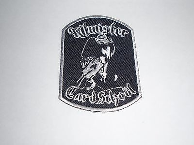 MOTORHEAD LEMMY KILMISTER EMBROIDERED PATCH