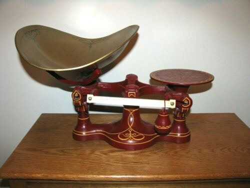 Antique Cast Iron Balance Scale No. 2 / Candy or Hardware Scale