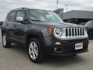 2017 Jeep Renegade Limited | SUNROOF | NAV | LEATHER |