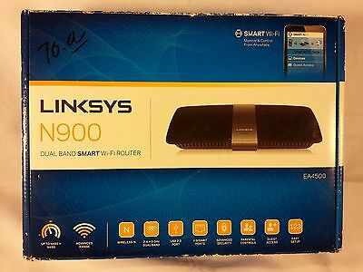 Linksys EA4500-NP Smart Wi-Fi App Enabled N900 Dual-Band Wir