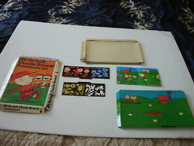 VINTAGE 1972 COLORFORMS HIT THE BALL CHARLIE BROWN NOT COMPLETE