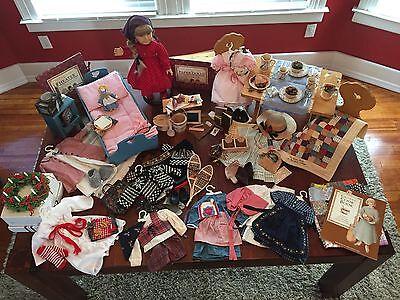 Ultimate Kirsten Larson American Girl Collection (Retired) w/ Bonus Items