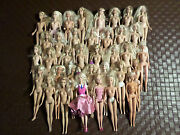 Lot of 3 Barbie Dolls