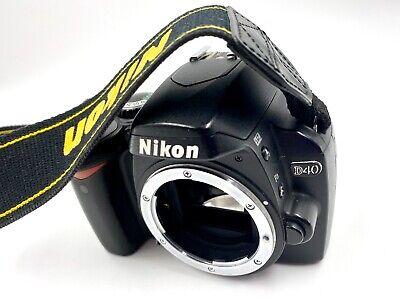 Nikon D40 6.1MP Digital SLR Camera - Black (Body Only) Clean Great Shape