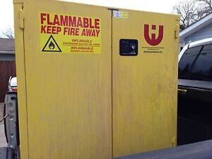 Used flammable cabinet