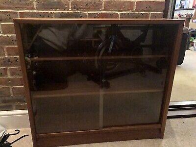 Retro Herbert E. Gibbs Glass Fronted Cabinet