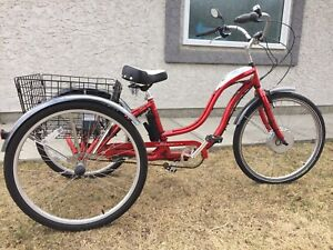 Scwinn 3-speed Electric Adult Tricycle