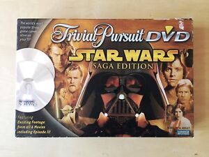 Trivial Pursuit Star Wars Saga Edition Board Game