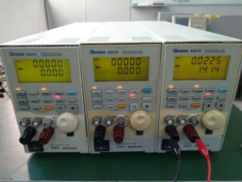 Chroma 63010 DC Electronic Load Module 2A / 20A , 16V / 64V , 100W