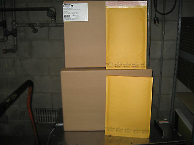 200 Ecolite Kraft Bubble Mailer Combo Pack - 100 3 100 4 - Ships Free