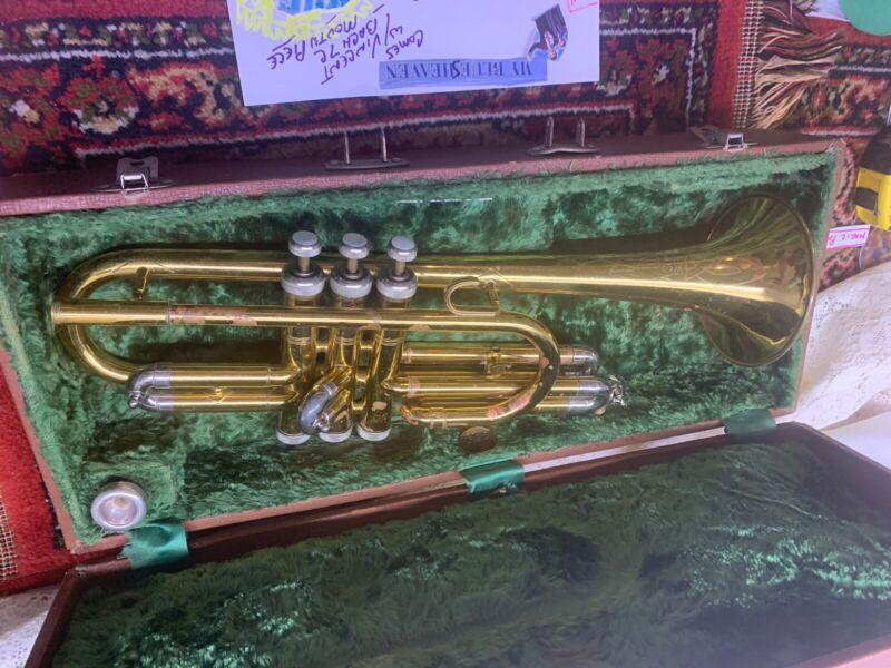 Rare Slingerland  Serenatta 104404 Unique special coronet Cornet horn brass Read