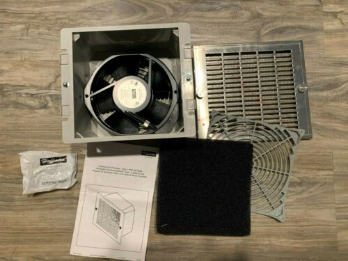 Hoffman TFP61FS Type 12 Cooling Fan Package Stainless Steel Grill 115Vac 140CFM