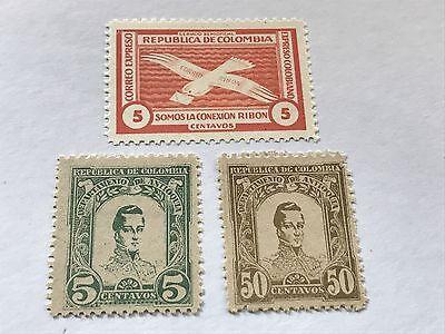 Republic Of Colombia  Unused  H   D03424