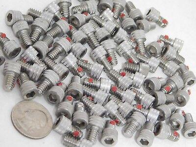 74 Pack Stainless Steel Socket Head Cap Screws 14-20 X 38 W Nylon Pellet Nh