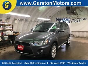 2012 Mitsubishi Outlander GT*4WD*NAVIGATION*POWER SUNROOF*LEATHE