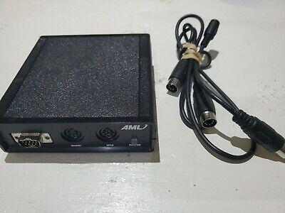 American Microsystems Aml M2000 Bar Code Scanning System Microscanner M2000-dec