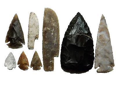 Steinzeit Set Experimentelle Archäologie (Nachbau) stone age flint knapping