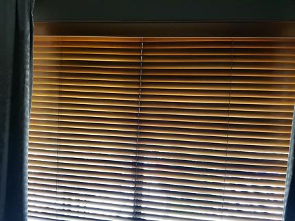 Wanted: Cedar Timber Blinds