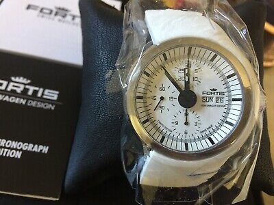 New Fortis Spaceleader Automatic Chronograph Limited Edition Valjoux 7750