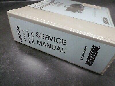 Elgin Pelican S Hydro-Drive Street Sweeper Truck Shop Service Repair Manual