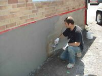 Parging - foundation repair - waterproofing and morev