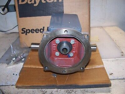 New Dayton 101 Gear Speed Reducer C-face Model 4z018d Hp 2.0 Max