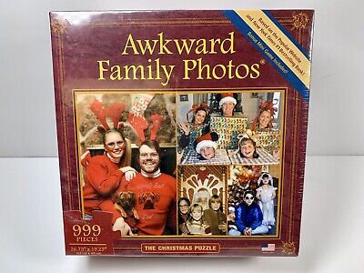 New Awkward Family Photos 999 Piece Christmas Puzzle ()