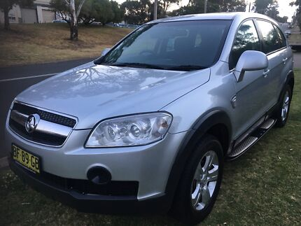 Holden Captiva 2010 7 seater auto low Klms