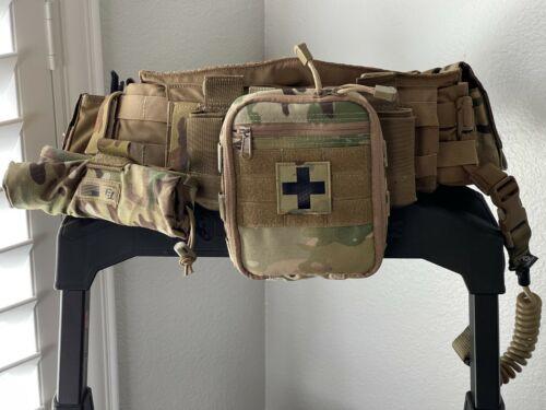 Battle Belt - Blue Force Gear SOC-C Modular Padded Belt Coyote Brown Medium