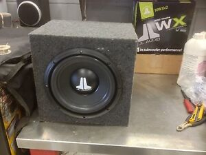 10 inch Jbl sub and kenwood amp package