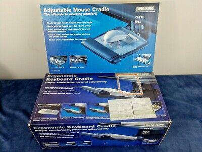 King Ring Adjustable Mouse Keyboard Traycradle 76545 76540 Made In Usa