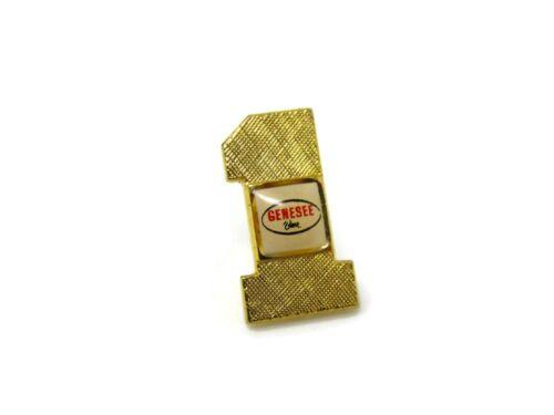 Genesee Beer #1 Pin Vintage Collectible