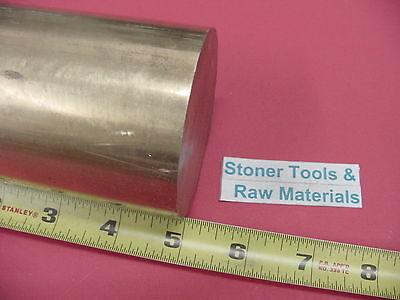 2-34 C360 Brass Round Rod 5 Long Solid 2.75 Diameter H02 Lathe Bar Stock