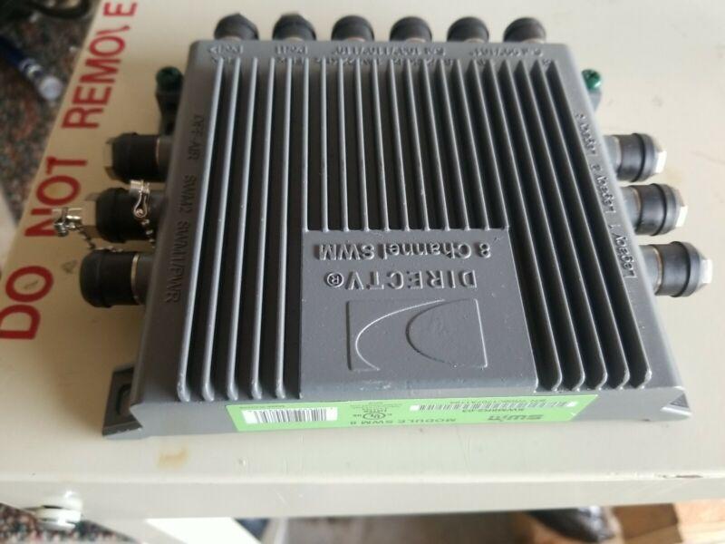 (NEW) DIRECTV SWM8 Multi-Switch SWM8R1 + 29V Power Supply  out of box