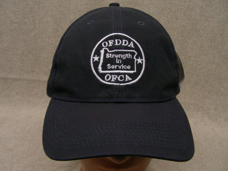 OFDDA/OFCA - OREGON FIRE FIGHTERS ASSOCIATION - ADJUSTABLE BALL CAP HAT!