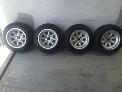 Set of Minilites Ford Escort Mk2 Tapping Wanneroo Area Preview