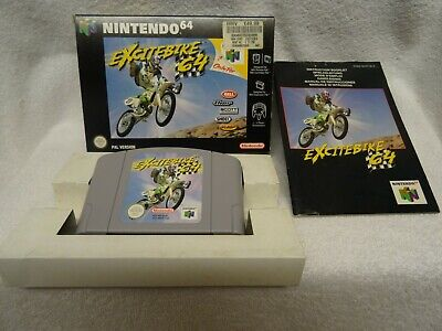 Excitebike 64 - N64 Game - Boxed + Instructions - UK Pal