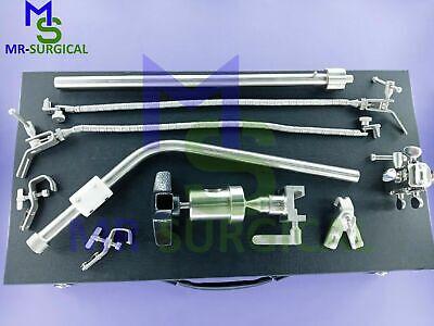 Bosco Leyla Brain Retractor Neurosurgery Flexible Arms - Complete Set Surgical