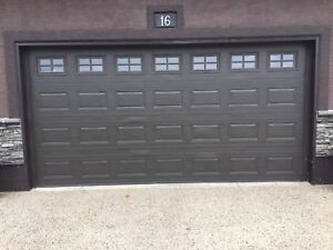 16 x 8 garage door for sale