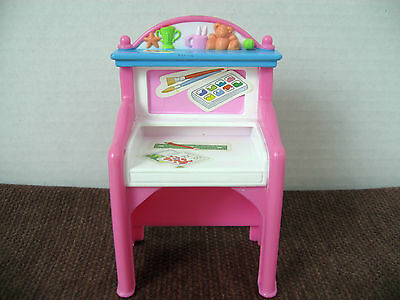 Fisher Price Loving Family Dollhouse Desk Vintage 1999 ** VGC **