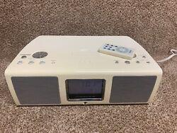 Teac SR-L200i Table Hi-Fi Radio AM/FM Alarm Clock iPod Dock ~ With Remote