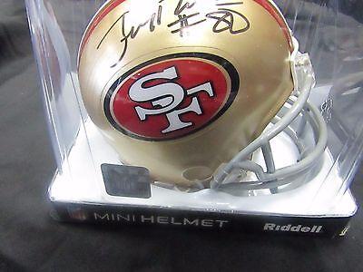 61a915fff8f Jerry Rice Autographed signed Mini 49ers Helmet JSA COA