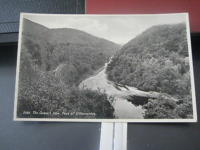 89. A Post Card of The Queens View, Pass of Killiecrankie No. 5184 Un posted