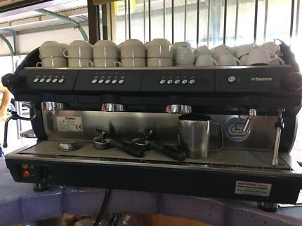 Saeco 3 handle coffee machine