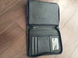 iPad mini portfolio leather case