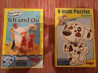 2x Haba einmal Puzzle einmal Lernspiel für die Kleinen Baden-Württemberg - Waghäusel Vorschau
