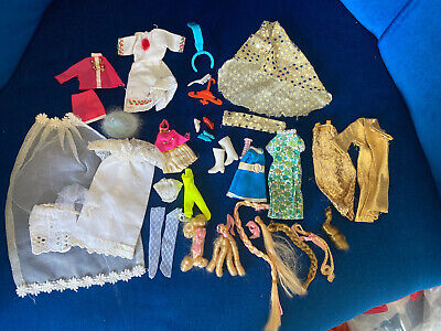 Vintage Pippa / Dawn  Dolls Outfits & Hair Peices